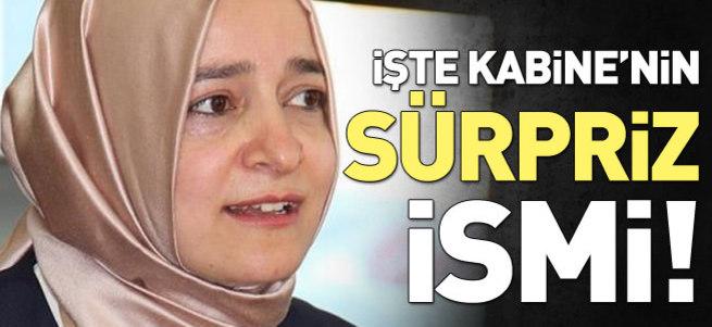 65. Hükümet'in tek kadın Bakanı Fatma Betül Sayan Kaya oldu