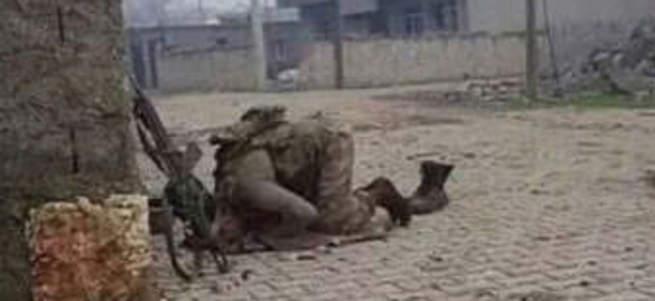 Nusaybin'de askerden şükür secdesi..
