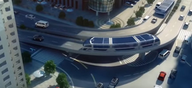 Çin trafiğine muhteşem bir çözüm
