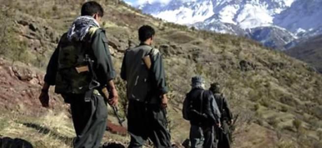 Askerimizi şehit eden PKK'lılar boğuldu!