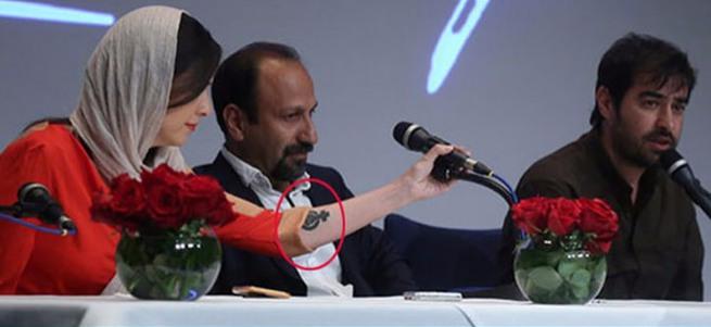 Taraneh Alidosti'nin dövmesi İran'ı karıştırdı