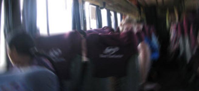 Yolcu otobüsünde korkunç olay