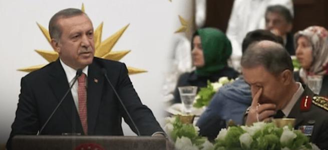 Erdoğan'ın o sözleri Hulusi Akar'ı duygulandırdı