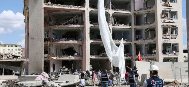 Midyat'ta şehit polis sayısı 3'e yükseldi