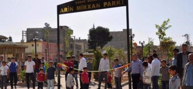 Suruç´taki parka canlı bomba olan teröristin adı verildi