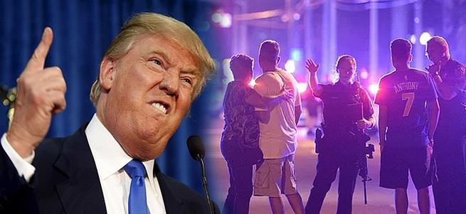 Trump Orlando saldırısını kullandı