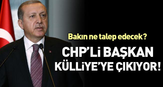 CHP'li Başkan Cumhurbaşkanlığı Külliyesi'ne çıkıyor
