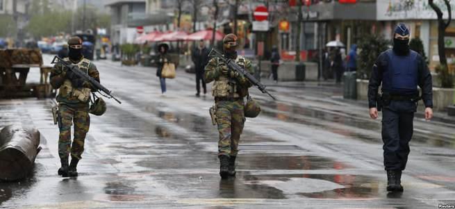 Brüksel'de saldırı hazırlığı yaptığı düşünülen kişiler yakalandı