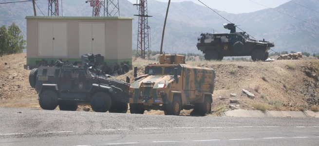 PKK'nın üst düzey yöneticilerine yönelik operasyon başladı