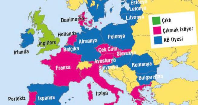 10 ülke daha AB'den çıkmak istiyor