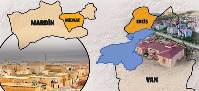 Midyat Mardin'den Erciş Van'dan ayrılacak