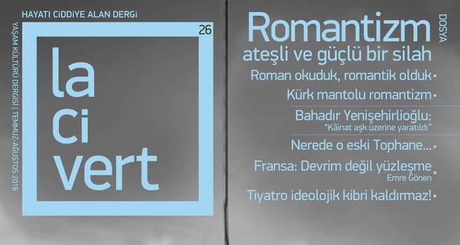 Lacivert 'Romantizm' sayısıyla çıktı!