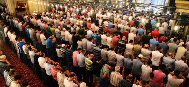 2016 Ramazan Bayramı namazı saat kaçta kılınacak? İl il bayram namazı saatleri listesi.