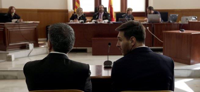 Messi ve babası hapis cezasına çarptırıldı