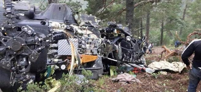 Giresun'daki askeri helikopterin düşüş nedeni belli oldu