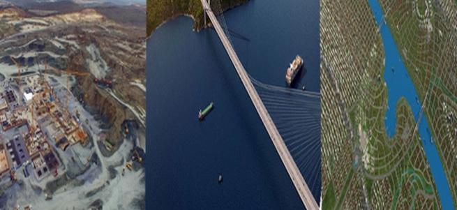 Dünyanın en büyük 3 projesi Türkiye'de