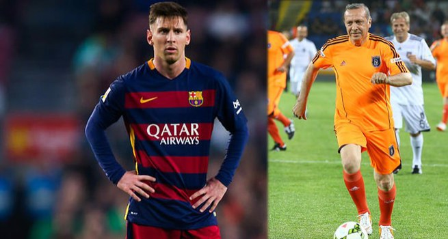 Cumhurbaşkanı Erdoğan, Messi ile futbol oynayacak!