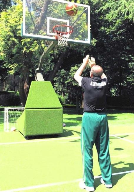 Cumhurbaşkanı Erdoğan'dan sabah sporu