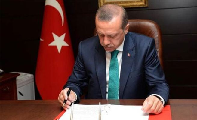 Cumhurbaşkanı Erdoğan'dan TSK kanununa onay