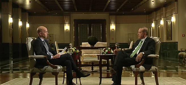 Cumhurbaşkanı Erdoğan France 24'e önemli açıklamalar