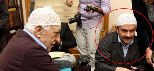Gülen'in sağ kolu yakalandı