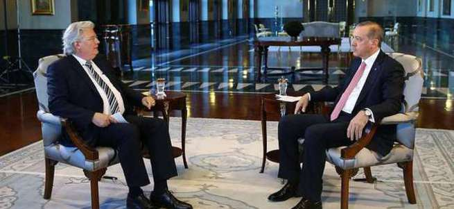 Cumhurbaşkanı Erdoğan Alman ARD'ye konuştu