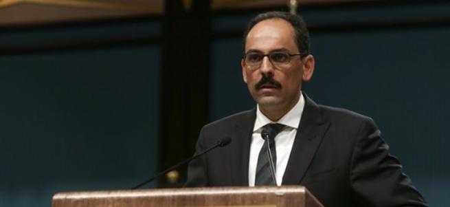 İbrahim Kalın: Cumhurbaşkanlığı Külliyesi, Başbakanlık ve TBMM artık füze sistemiyle korunacak