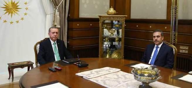 Cumhurbaşkanı Erdoğan Hakan Fidan'ı kabul edecek
