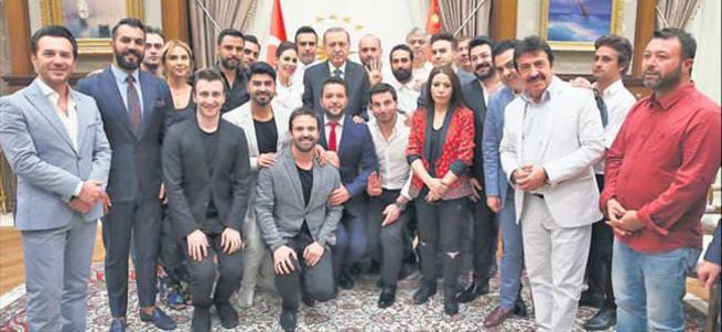 Beştepe'de demokrasi buluşması