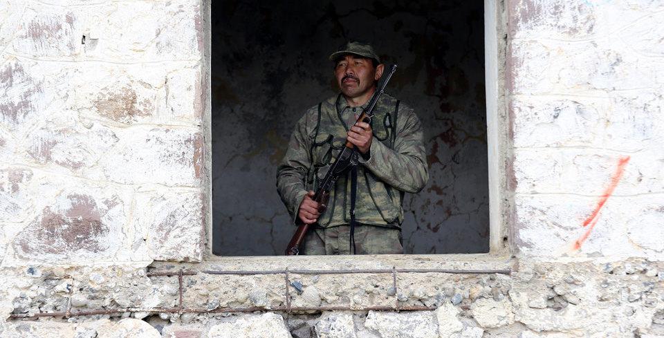 Do�u'da PKK'n�n girmeye cesaret edemedi�i tek köy!