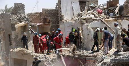 Irak ordusu yanlışlıkla kendi başkentini bombaladı