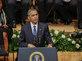 Obama öldürülen polisler için gözya�� döktü