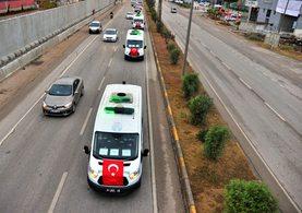 Adana'daki yurt faciasında yaşamını yitiren çocukların cenazeleri böyle taşındı
