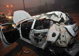 Bursa'da feci kaza: 4 ölü,1 ağır yaralı