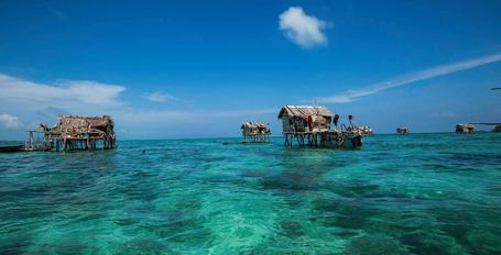 Cennet Gibi Bir Yerde Yaşayan Deniz Göçebeleri