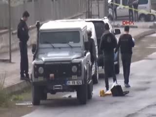 Diyarbak�r'da polise sald�r�