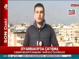 Diyarbak�r'da baro aç�klamas� s�ras�nda çat��ma ç�kt�