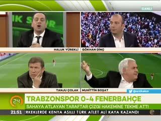 Tanju Çolak canl� yay�nda a�lad�