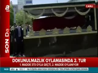 �ehit cenazesinde K�l�çdaro�lu'na yo�un protesto!