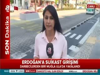 Erdo�an'�n kald��� otele sald�ran hain askerlerden biri yakaland�