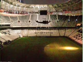 Darbecilerin helikopteri Vodafone Arena'ya böyle inmi�!