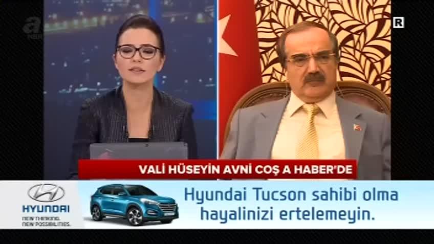 Vali Hüseyin Avni Coş A Haber'de FETÖ'yü anlattı