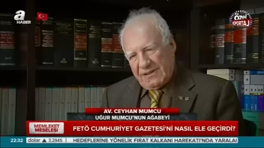 Ceyhan Mumcu çarpıcı açıklamalarda bulundu!