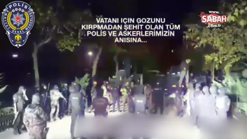 Hain saldırı sonrası polisimizden sosyal medyayı sallayan yemin!