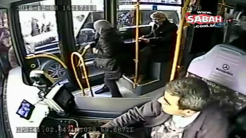 Futbolcu Burak Yılmaz'ın otobüs şoförü ile kavga görüntüleri ortaya çıktı