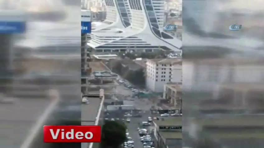 İzmir'de büyük patlama