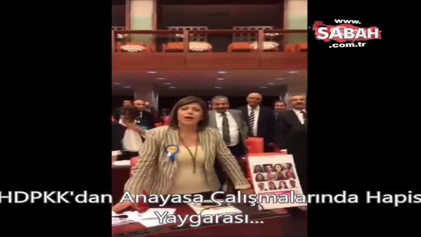 AK Partili Ahmet Hamdi Çamlı'dan terör destekçilerine TBMM'de tokat gibi cevap!
