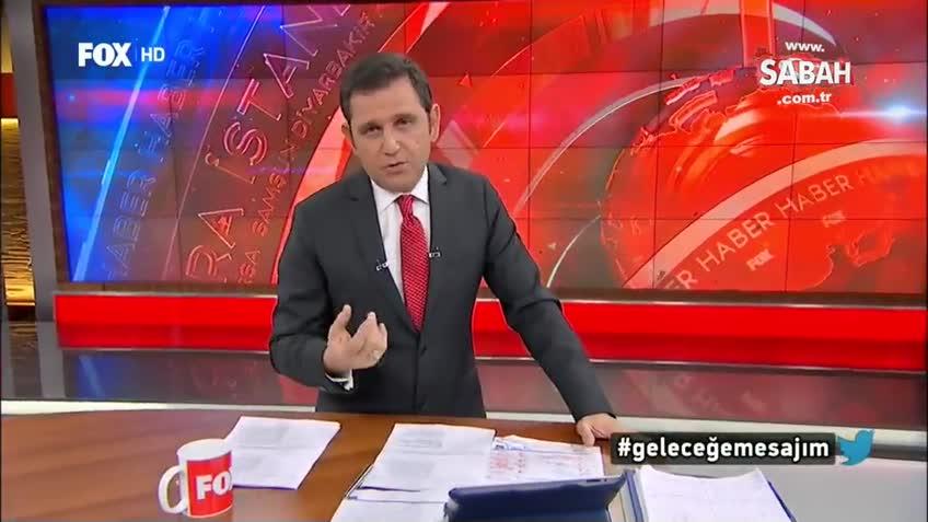 Fox Ana Haber sunucusu Fatih Portakal 'Reis' kelimesinden rahatsız